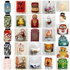 Assorted Oriental Japanese Night Light Candle Lamp Christian Cars Nightlight USA