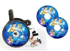 Wheelchair Spoke Guard Skins Princess Custom Design Personalised Kids & Adult