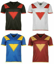 Bionix Rugby T-Shirt Mens Black White Red Maroon Blue Yellow Gold M XL :51