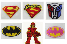 Brand New Punk Rock Comic Super Hero  Embroidered Applique Iron On Patch For DIY
