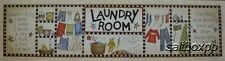 "LS940 Laundry Room Linda Spivey 8""x30"" framed or unframed print art"