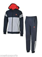 adidas boys zip up fleece tracksuit. Jogging suit. Warm up suit.Various sizes!