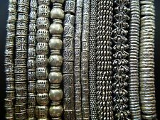 Thai Karen Hill Tribe handmade 925 Sterling Silver Beads Spacer for Bracelet