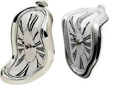 Salvador Dali Inspired Table/Shelf Melting Clock Available in Two Melting Styles