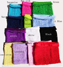8x10inches Lined crochet tube top tutu top tutu dress supplies