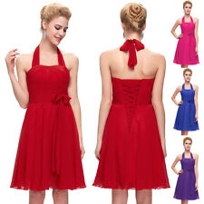 CHEAP Short Formal Bridesmaid Wedding Party Ball Gown Evening Cocktail Dress New