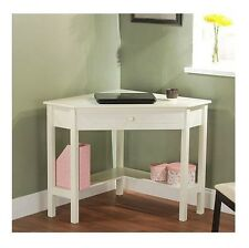 Corner Writing Desk with Drawer Computer Office Home Furniture Table Workstation