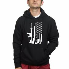 American Flag Pro Gun 2nd Amendment Smith wesson Mag Sweatshirt Hoodie R204