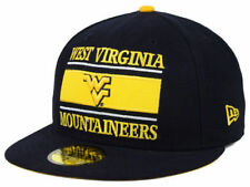 "West Virginia Mountaineers NCAA New Era 59Fifty ""Frosh"" Flat Bill Fitted Hat New"