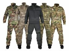 Tactical Army Combat Uniform Military ATACS ACU Camo Shirt & Pants For Men