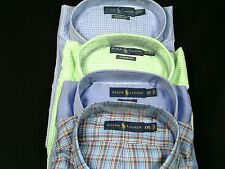 Ralph Lauren Polo Mens Dress Shirt 2XL, 3XLT, 3XL, 4XLT, 4XL Big & Tall NWT LS