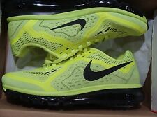 New Men's Nike Air Max 2014 Volt/Black 621077 700 Size 10~11.5