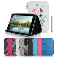 """Universal 7"""" Inch EVA Hard Shell Folio Case Cover & Stylus For Selected Tablets"""