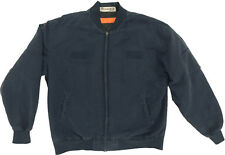 Work Jackets (Navy) by RedKap (Quilt Lined Perma Lined Solid Team Jacket) JT38NV