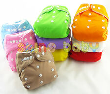 Baby Infant Adjustable Reusable Baby Washable Cloth Diaper Nappies One Size