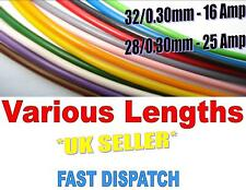 16 Amp, 25 Amp AUTOMOTIVE CABLE LOOM MARINE THIN WALL 8 COLOURS VARIOUS LENGTHS
