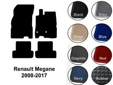 Renault Megane (2008 to 2017) New Fully Tailored Carpet Car Floor Mats