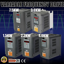 VFD VARIABLE FREQUENCY DRIVE INVERTER 1.5KW 2.2KW 3KW 4KW 7.5KW 220-250V