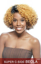 Vanessa Synthetic Full Bohemian Curly Lace Part Short Super C Beola Wig