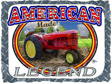 MASSEY HARRIS 33 TRACTOR ANTIQUE AMERICAN LEGEND PRINTED T-SHIRT SMALL-4XL