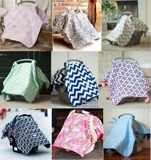 CarSeat Canopy Capsule Cover for baby carseat, bassinet, multiple options