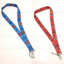 Spiderman Logo Style Mobile Phone Lanyard Key Chain Strap Charms Type A new