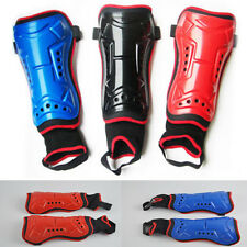 2 Pcs Football Soccer Team Sport Shin Pads Guards Set With Detachable Ankle Sock