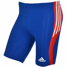BNWT Adidas Mens Running Tights Pants Athletics Cycle Blue Original FR shorts