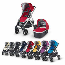 UPPAbaby VISTA 2015 Baby Pram / Stroller - With Bassinet - 8 Optional Colour