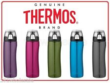 ❤ Thermos 710ml Hydration Bottle with Rotating Meter on Lid 5 Color Leak Proof ❤