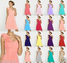 2015 Short Sexy Formal Cocktail Formal Bridesmaid Party Cocktail Prom Dress 6-18
