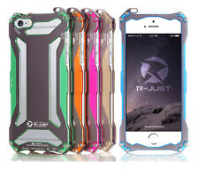 R-JUST Gundam Shockproof Aluminum Metal Housing Case Cover For iPhone 4S 5S 5C 6
