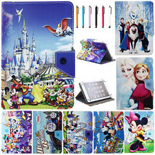 Universal Disney Cartoon Image PU Leather Case Cover For Various 7'' Inch Tablet