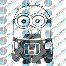 Honda minion decal sticker civic accord crv indoor outdoor