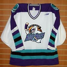 Orlando Solar Bears IHL Bauer Authentic On Ice Game Issued White Hockey Jersey