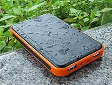 30000mAh Portable Solar Panel Power Bank External Battery Charger For Cell Phone