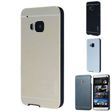 Luxury Motomo Metal Aluminum Brushed Hard Skin Case Cover For HTC ONE M7 M8 M9