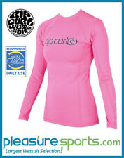 Rip Curl Surf Team Women's Rashguard Long Sleeve 50+ UV Protection - Pink