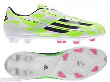MENS ADIDAS F10 FIRM GROUND MEN'S FOOTBALL BOOTS FOOTY SPIKES STUDS SHOES SOCCER