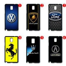 Hot Sale Car Fans Gift Back Case Cover For Samsung Galaxy S4 S5 Note 2 3 4