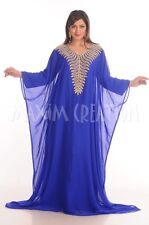NEW JALABIYA JILBAB MODERN CAFTAN FANCY WEDDING GOWN ARABIAN THOBE DRESS  4819