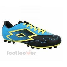 Shoes Lotto Soccer Zhero Gravity VI 700 HG R5729 Man News Blue Black Yellow
