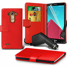 Wallet✔Flip✔Book✔Stand✔Leather✔Phone Case Cover✔In Car Charger