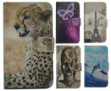 For Samsung GALAXY case Wallet Card DELUXE leather cartoon cute Cover