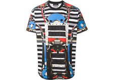 GIVENCHY MENS LUXURY LOOSE FIT ROBOT PRINTED T-SHIRT #14J7369160