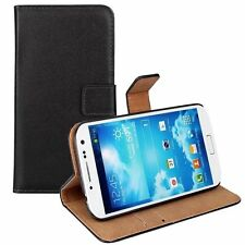 Black White Leather Flip Case Cover Pouch For Samsung Galaxy Model