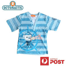 New Octonauts Boys Kids T-Shirt Tee Top BNWOT Captain Barnacles Size 2 3 4