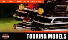 2002 HARLEY DAVIDSON TOURING MODEL OWNERS MANUAL