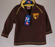 Official AFL Hawthorn Hawks Kids Polar Fleece