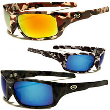 New Camouflage Sports Hunting Outdoors Sunglasses Duck Dynasty Black Camo